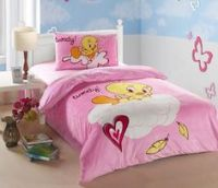 "Tweety bedroom... I need this bed set. | ""Tweety Bird ..."