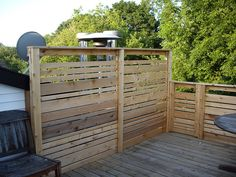 privacy wall finished by fowlski via flickr fence ideaspatio