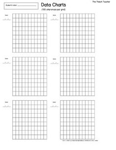 Monitor your students reading rate with this fluency chart