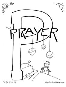 Baby Jelly Bean's Prayer To Jesus Coloring Page For Kids