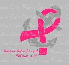 Hope Anchors the Soul SVG Cricut Design Nautical ps eps ...