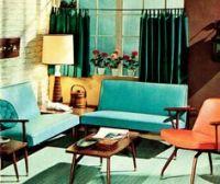 1000+ ideas about 1950s Interior on Pinterest | Mid ...