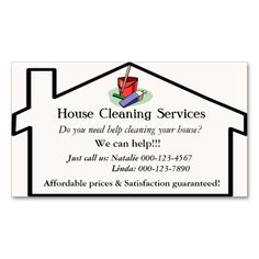 1000+ images about Cleaning Business Cards on Pinterest