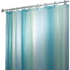 Beach Theme Custom Ocean Waves California Paradise Shower Curtain