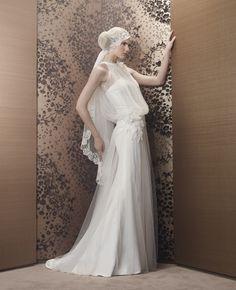 20er Jahre Vintage Style Brautkleid Von Hervé Mariage Modell