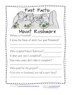 1000+ images about activities for Mount Rushmore on