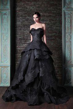 Nau Schwarz Brautkleid Hochzeitskleid Abendkleid Ballkleid Gr 32