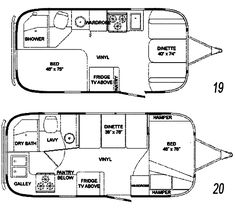The Vintage Airstream Globetrotter 19 Foot 1964 Travel