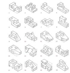 1000+ images about Orthographic drawings on Pinterest
