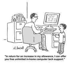 Information technology, Cartoon and Tech on Pinterest