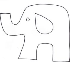 A Unique Touch For Your Scrapbook: Pieced Elephant