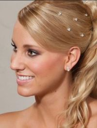 Wedding Hair Styles on Pinterest | Wedding Hairs, Updo and ...