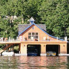 4 Slip Boat House Cottage Love Pinterest Boat House