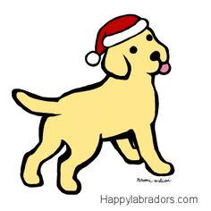 1000 Images About Labrador Retriever Christmas Designs On