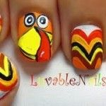 1000+ images about Thanksgiving Nail Art on Pinterest ...