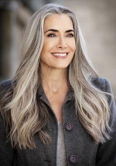 beautiful hair silver hair pinterest