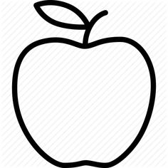 apple pattern. printable