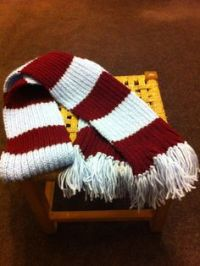 1000+ images about Football Scarf on Pinterest | Football ...
