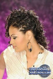 black hair salons styles and models