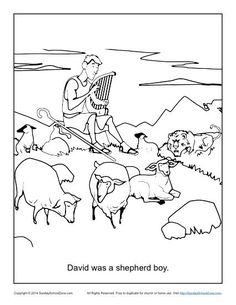 1000+ images about David Was a Shepherd Boy Bible