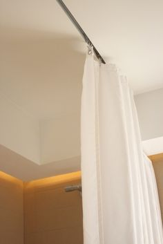 flush ceiling curtain track