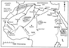 The Trans- Saharan Trade Route was controlled by the