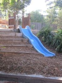 DIY: Make a Slide in the Hill Side or Yard! Easy & Fun for ...