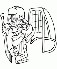 Boston Bruins Hockey Coloring Page. We have all the NHL