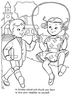 love your neighbor as yourself coloring pages Matthew 22