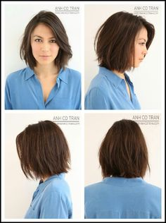 Short Hair Ideas For Round Face Bobs Eyebrows And Briefs