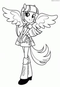My Little Pony: Dibujos para colorear de Applejack de My