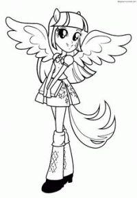 My Little Pony: Dibujos para colorear de Applejack de My