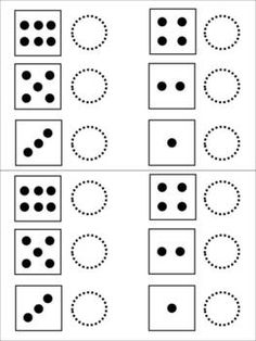 FREE dice addition sheet. Perfect for beginning addition