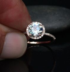 1000 ideas about Aquamarine Engagement Rings on Pinterest  Morganite Engagement Morganite