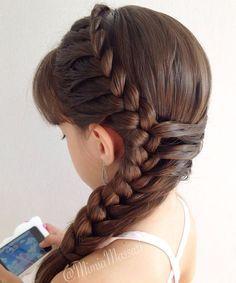 20 Fancy Little Girl Braids Hairstyle Long Hairstyles Long