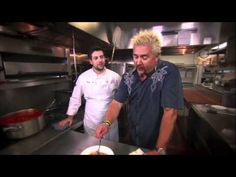 Diners Drive Ins and Dives Colossal Caf in Minneapolis  Diners Drive Ins and Dives with Guy
