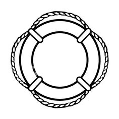 Printable nautical border. Free GIF, JPG, PDF, and PNG