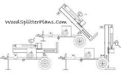 3-Point Hitch Log Splitter Plans 20, 25, 30, 35, 40, 45