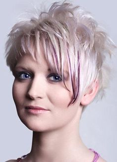 SHORT SPIKEY HAIRCUTS FOR WOMEN OVER 50 Short & Spiky For 50