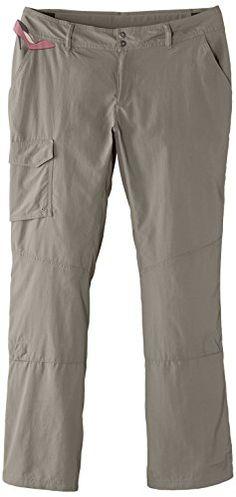 columbia silver ridge pantalon femme marron tusk eu