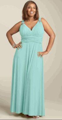 Plus Size Bridesmaid Dresses on Pinterest