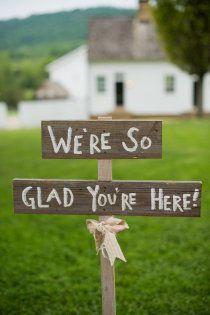 #wedding welcome sig