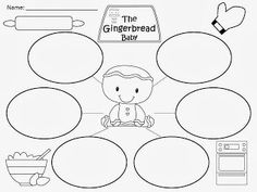 FREE Writing Paper for The Gingerbread Baby by Jan Brett