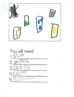 1000+ images about Kindergarten {Writing} on Pinterest
