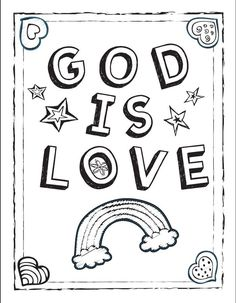 Valentine's Day Bible Coloring Page