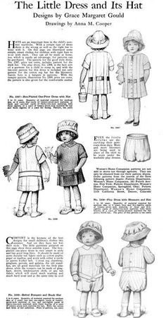 1000+ images about Childrens clothes 1910-1915 on