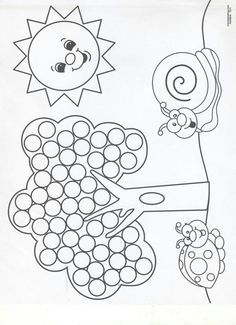 Palmer Practicality: Summer Do a Dot Printables