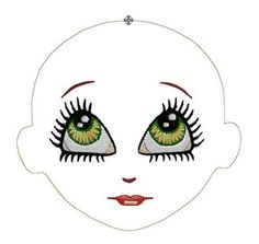 WHIMSY DOLLS MACHINE EMBROIDERY DESIGNS This adorable