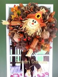 1000+ ideas about Scarecrow Wreath on Pinterest | Fall ...