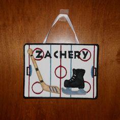 Sports hotel door sign :)
